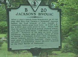 Jackson's Bivouac
