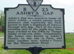 Ashby's Gap