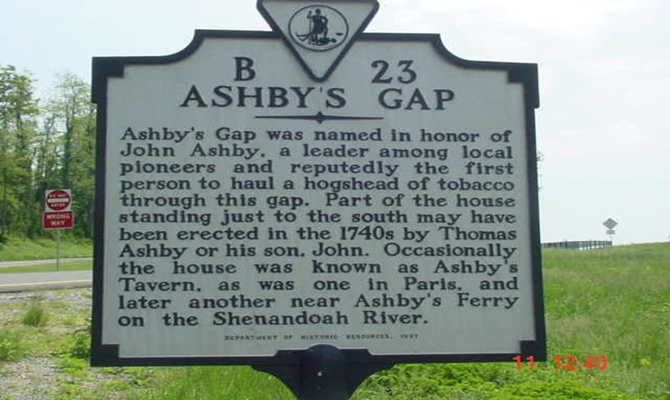 Ashby's Gap