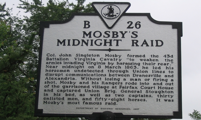 Mosby's Midnight Raid