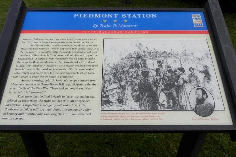 Civil War Trail – Piedmont Station